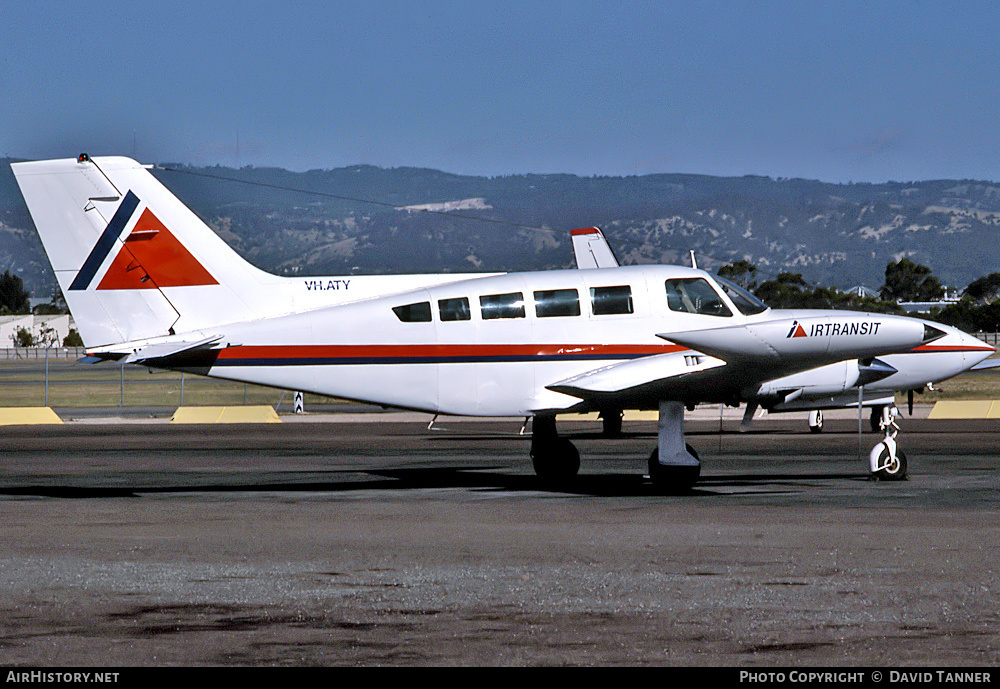 Aircraft Photo of VH-ATY | Cessna 402B Businessliner | Air Transit | AirHistory.net #41689