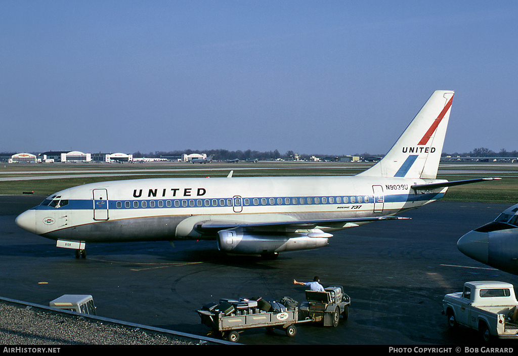 Aircraft Photo of N9039U | Boeing 737-222 | United Airlines | AirHistory.net