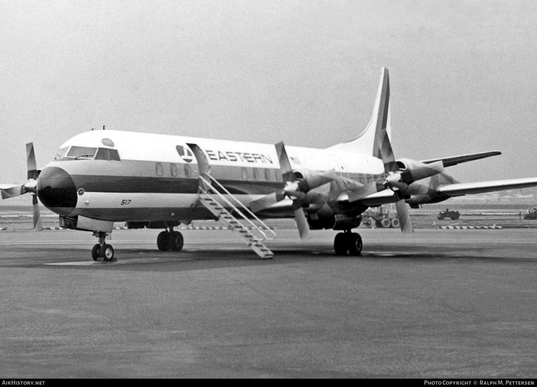 Aircraft Photo of N5517 | Lockheed L-188A Electra | Eastern Air Lines | AirHistory.net