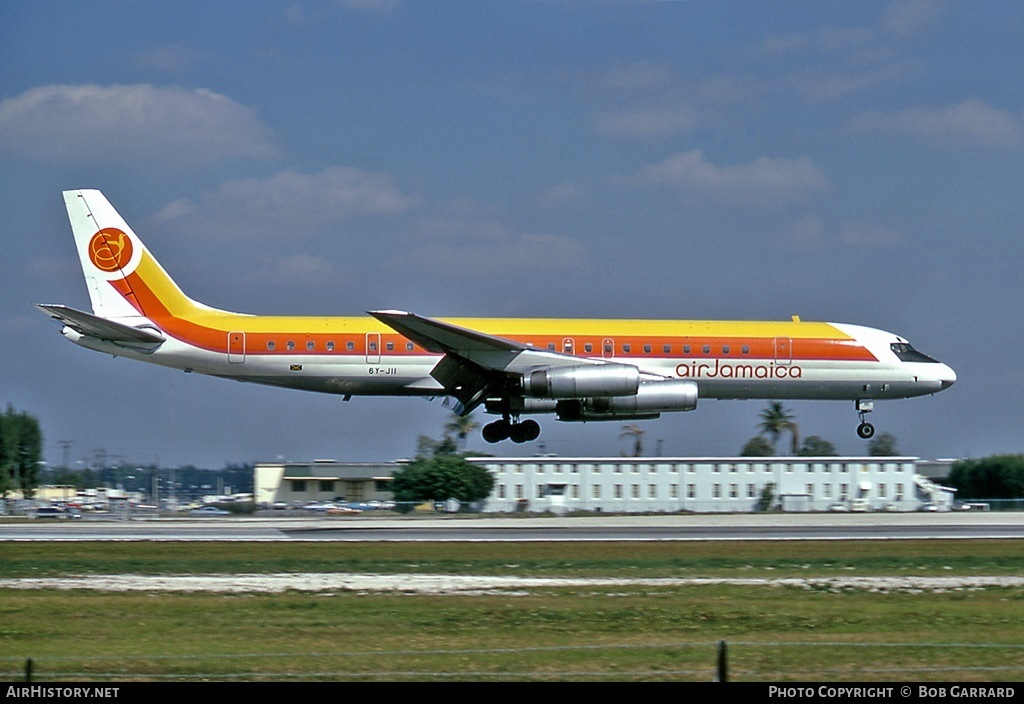 Aircraft Photo of 6Y-JII | McDonnell Douglas DC-8-62H | Air Jamaica | AirHistory.net