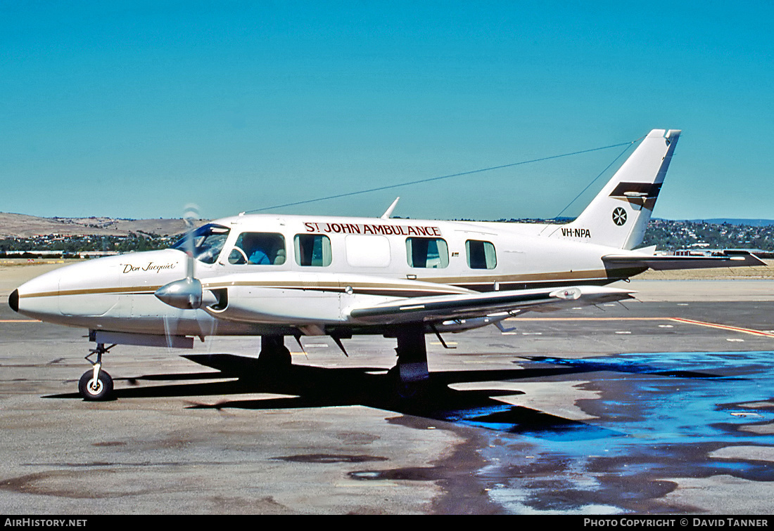 Aircraft Photo of VH-NPA | Piper PA-31-350 Chieftain | St. John Ambulance | AirHistory.net
