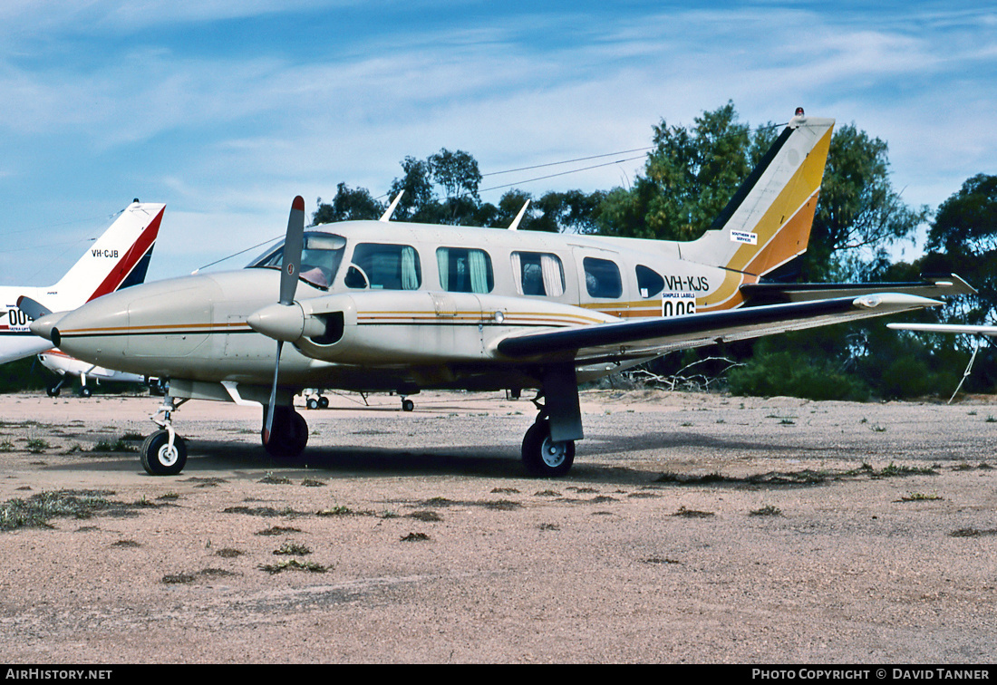 Aircraft Photo of VH-KJS | Piper PA-31 Navajo | AirHistory.net