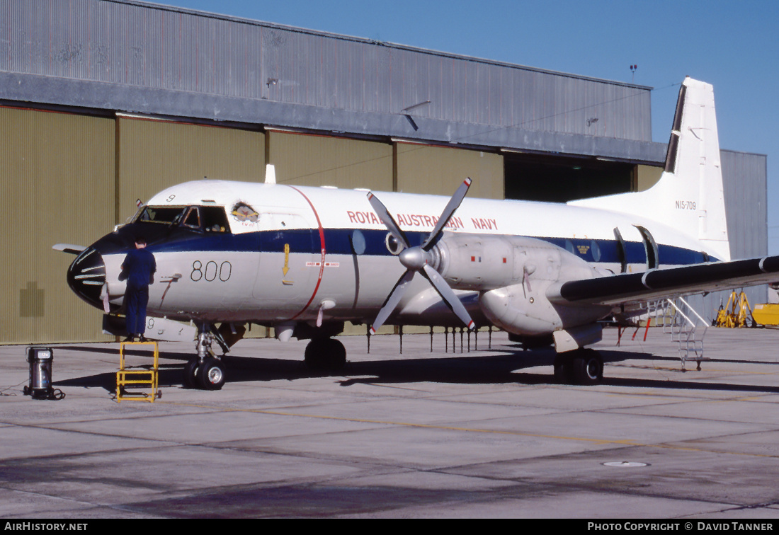 Aircraft Photo of N15-709 | Hawker Siddeley HS-748 Srs2/268 | Australia - Navy | AirHistory.net
