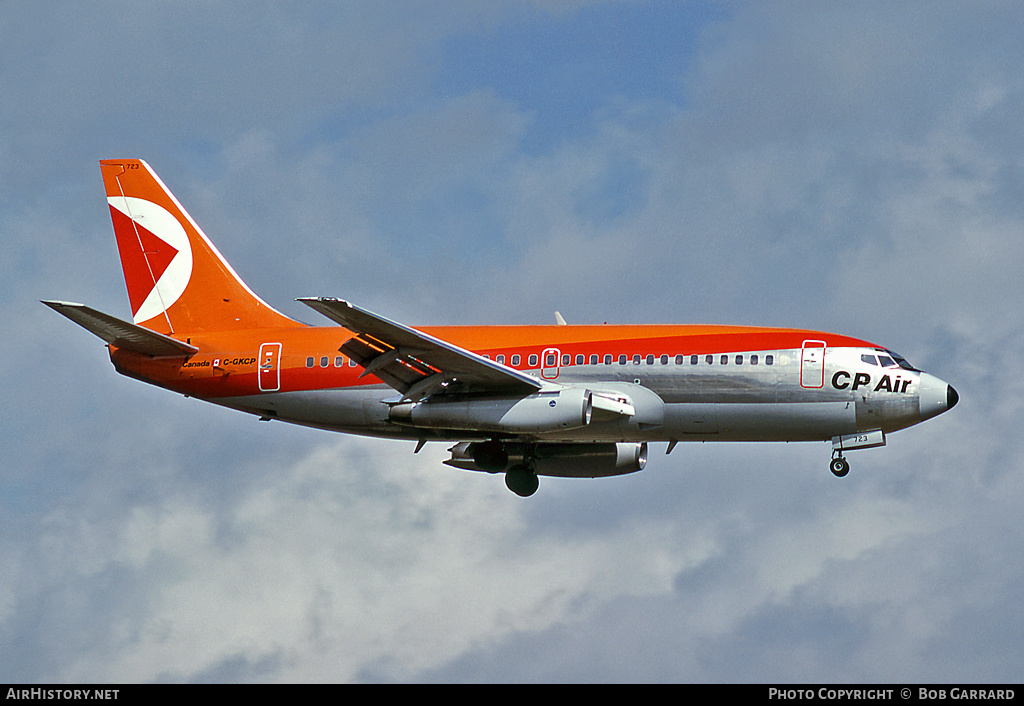 Aircraft Photo of C-GKCP | Boeing 737-217/Adv | CP Air | AirHistory.net