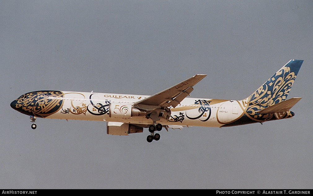 Aircraft Photo of A4O-GJ | Boeing 767-3P6/ER | Gulf Air | AirHistory.net #42549