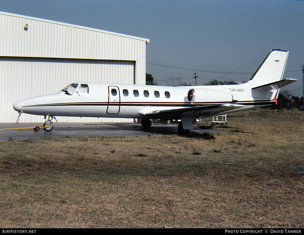 Aircraft Photo of VH-BRX | Cessna 550 Citation II | AirHistory.net #42651