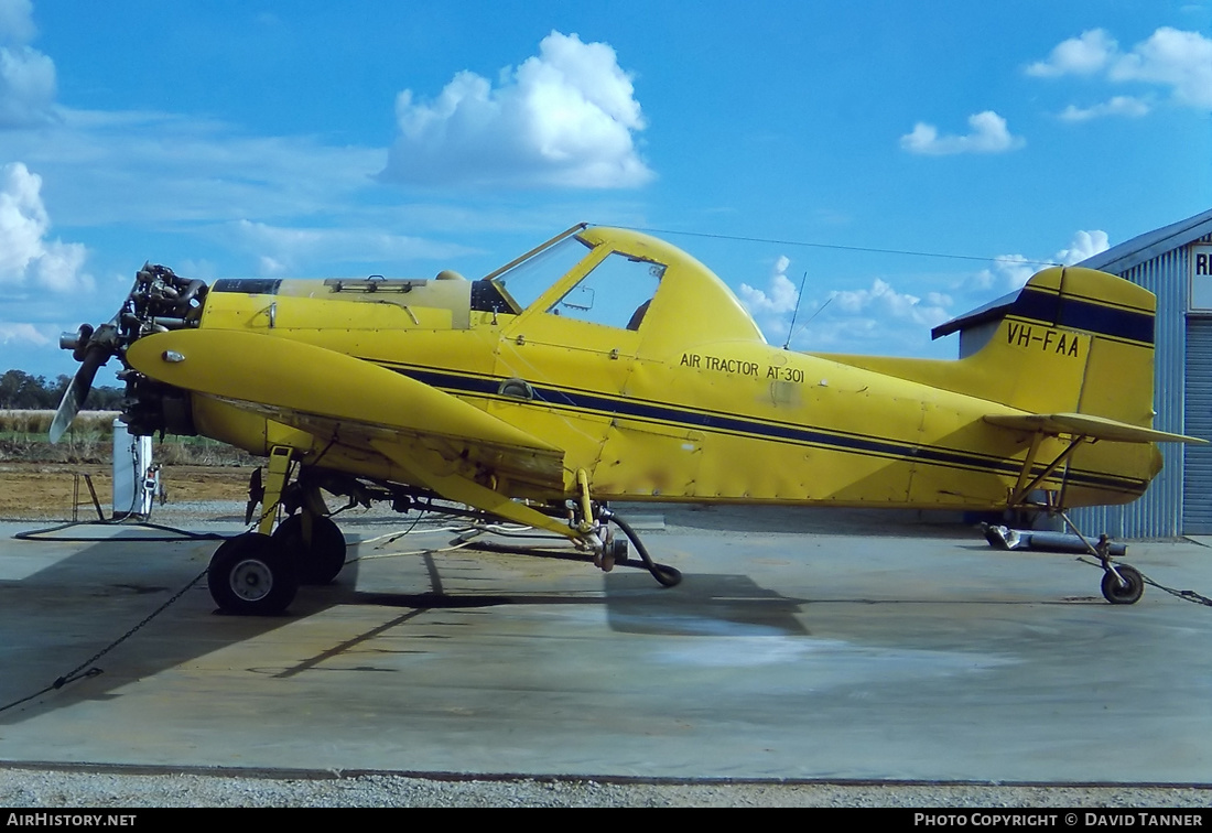 Aircraft Photo of VH-FAA | Air Tractor AT-301 | AirHistory.net #42668