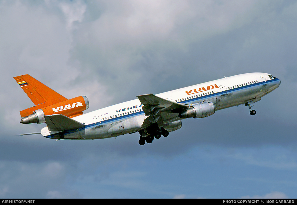 Aircraft Photo of YV-134C | McDonnell Douglas DC-10-30 | Viasa | AirHistory.net #42759