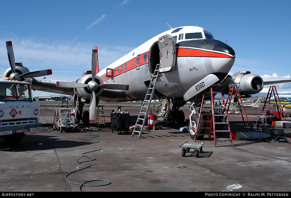 Aircraft Photo of N838D | Douglas DC-7B(AT) | TBM | AirHistory.net #42797