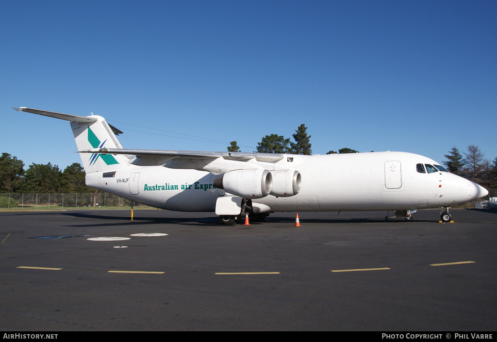 Aircraft Photo of VH-NJF | British Aerospace BAe-146-300QT Quiet Trader | Australian Air Express | AirHistory.net #42832