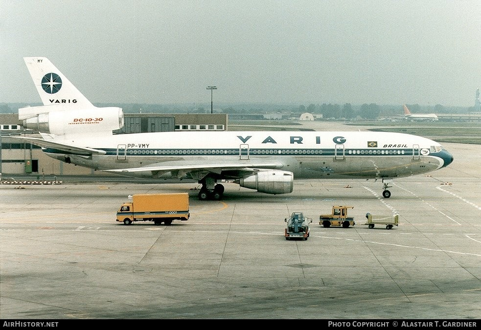 Aircraft Photo of PP-VMY | McDonnell Douglas DC-10-30 | Varig | AirHistory.net #43065