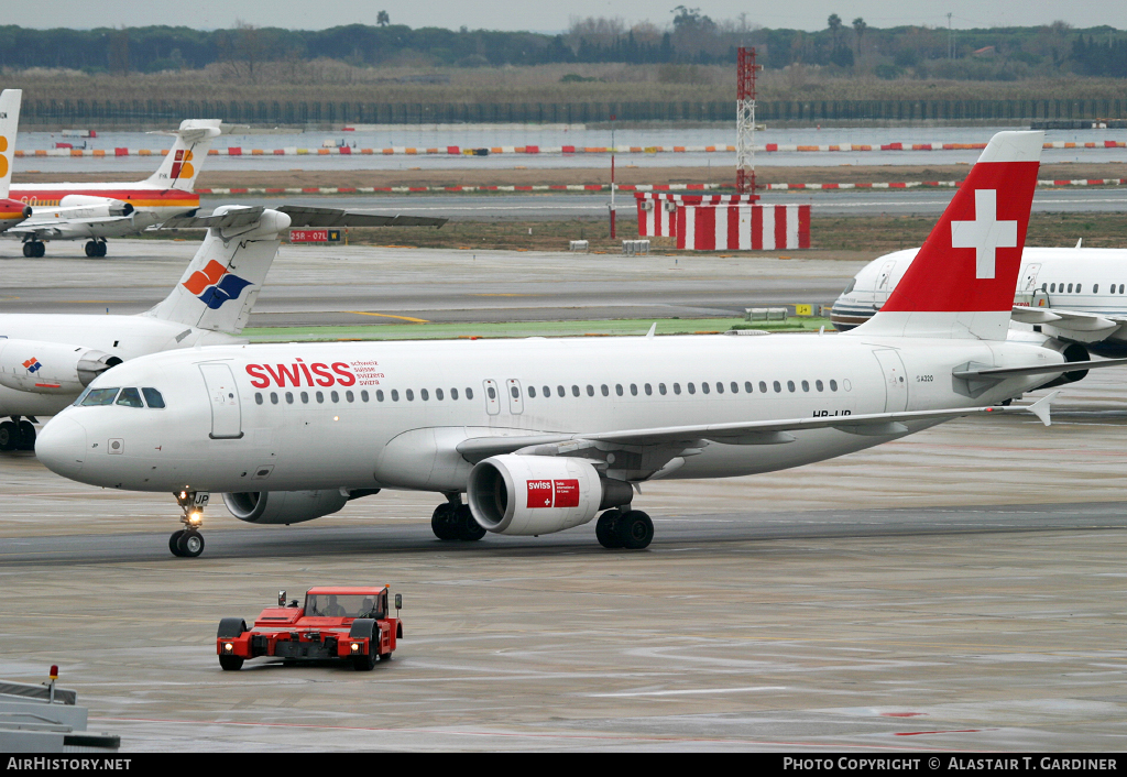 Aircraft Photo of HB-IJP | Airbus A320-214 | Swiss International Air Lines | AirHistory.net #43295