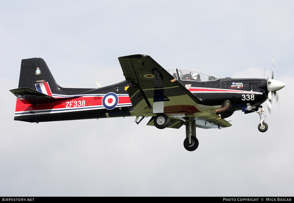 Aircraft Photo of ZF338 | Short S-312 Tucano T1 | UK - Air Force | AirHistory.net #43310