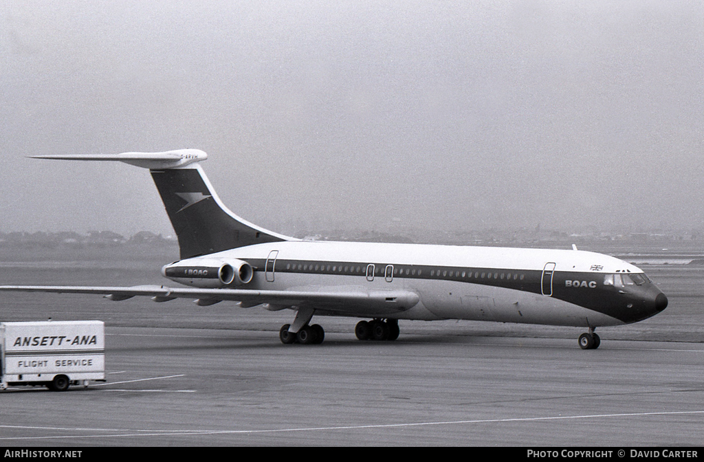 Aircraft Photo of G-ARVH | Vickers VC10 Srs1101 | BOAC | AirHistory.net #43399