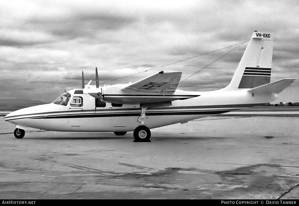 Aircraft Photo of VH-EXC | Rockwell 500S Shrike Commander | Executive Air Services | AirHistory.net #43484