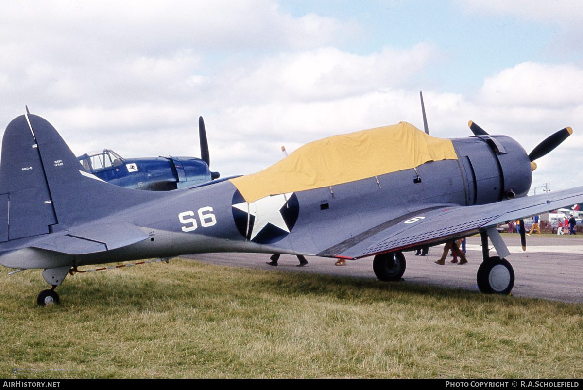 Aircraft Photo of N17421 / 17421 | Douglas A-24B Banshee | Pacific Aeronautical Corp | USA - Navy | AirHistory.net #43502
