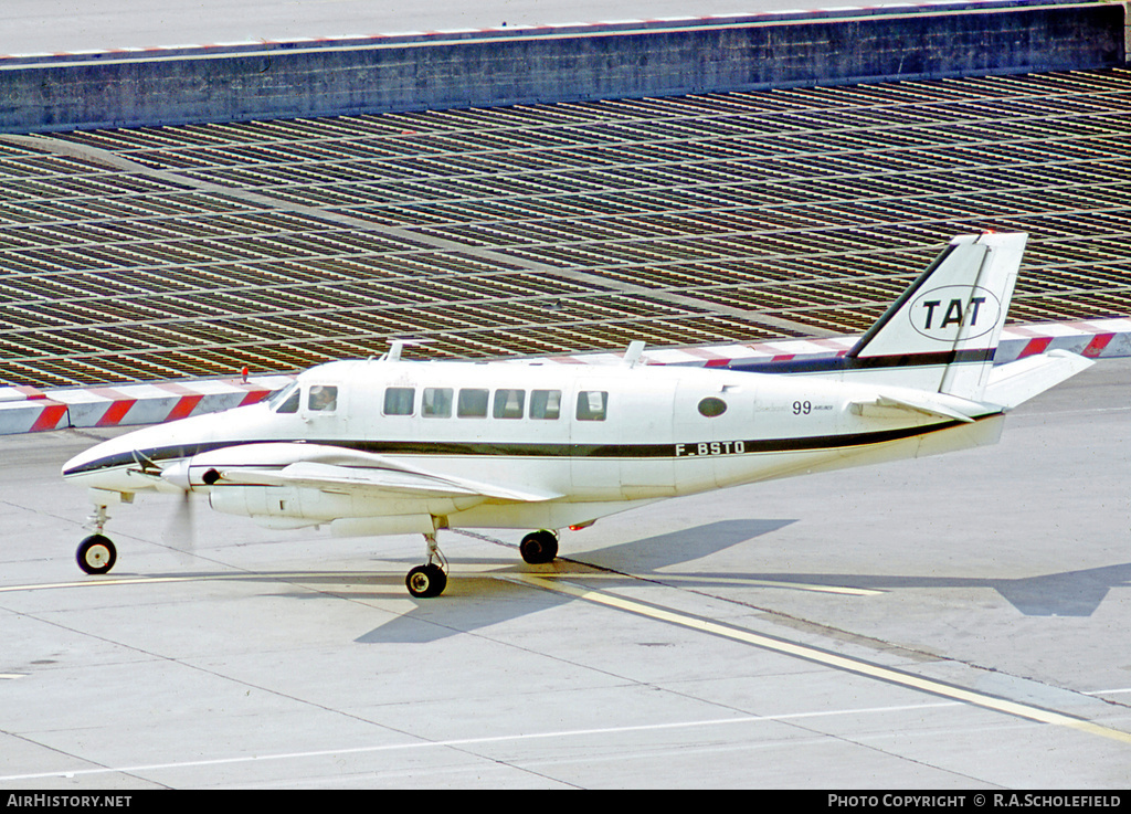 Aircraft Photo of F-BSTO | Beech 99 Airliner | TAT - Touraine Air Transport | AirHistory.net