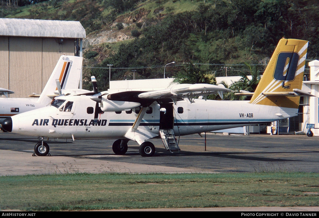 Aircraft Photo of VH-AQB | De Havilland Canada DHC-6-300 Twin Otter | Air Queensland | AirHistory.net #44471