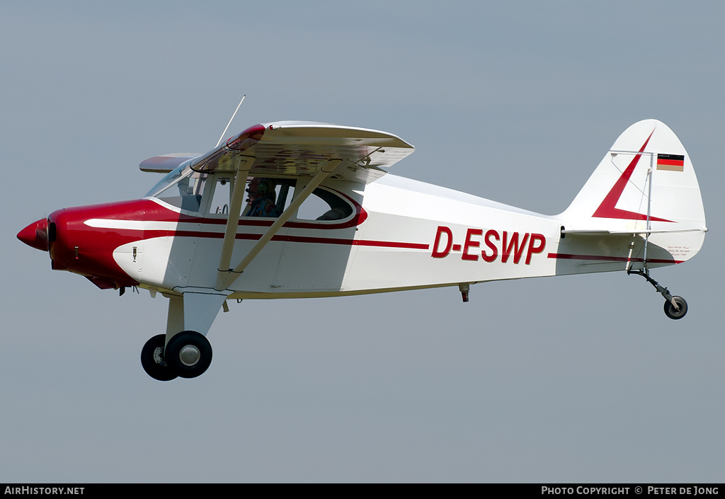 Aircraft Photo of D-ESWP | Piper PA-20-135 Pacer | AirHistory.net