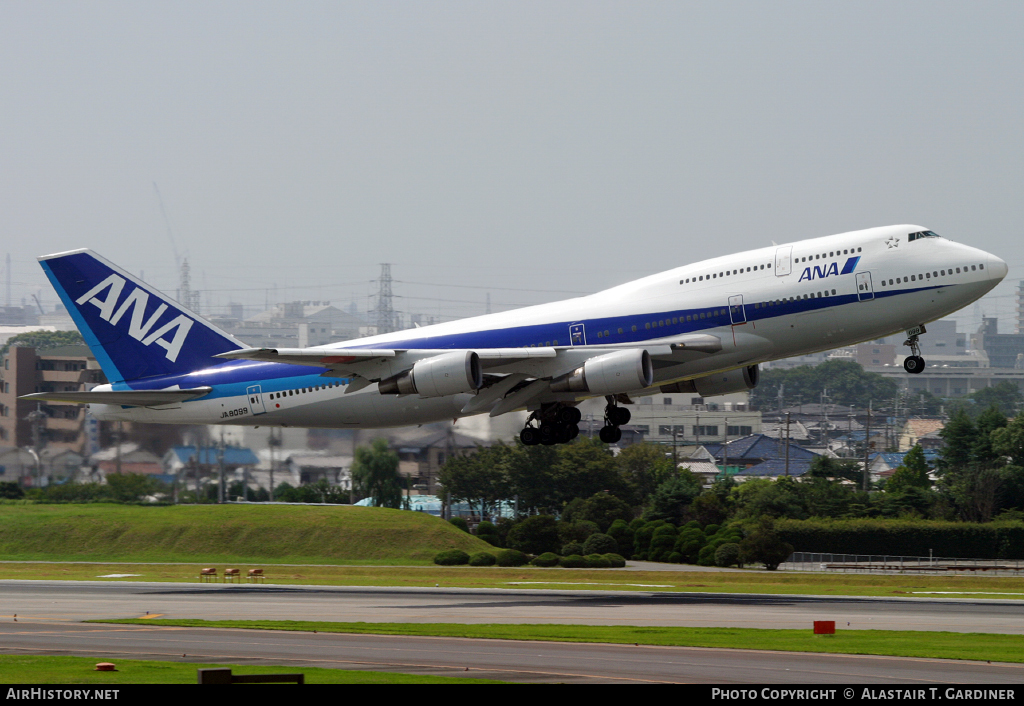 Aircraft Photo of JA8099 | Boeing 747-481D | All Nippon Airways - ANA | AirHistory.net #44897