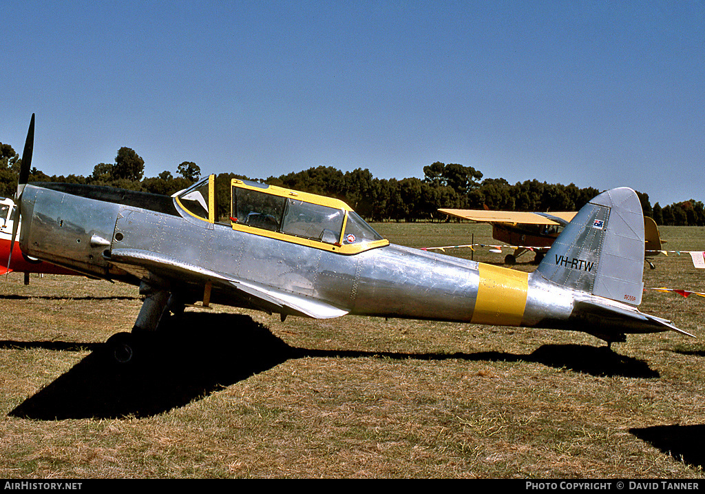 Aircraft Photo of VH-RTW | De Havilland DHC-1 Chipmunk Mk22 | AirHistory.net #44908