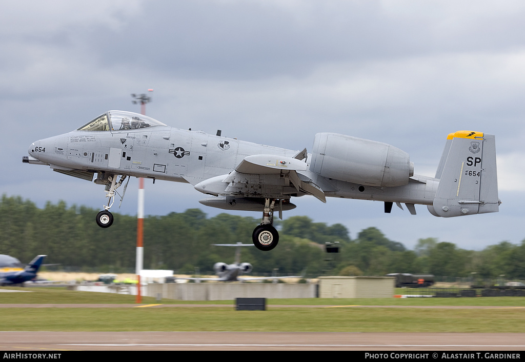 Aircraft Photo of 81-0654 / AF81-654 | Fairchild A-10C Thunderbolt II | USA - Air Force | AirHistory.net #45322