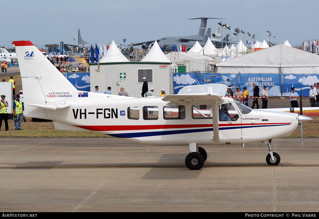 Aircraft Photo of VH-FGN | Gippsland GA-8-TC320 Airvan | Gippsland Aeronautics | AirHistory.net #46011