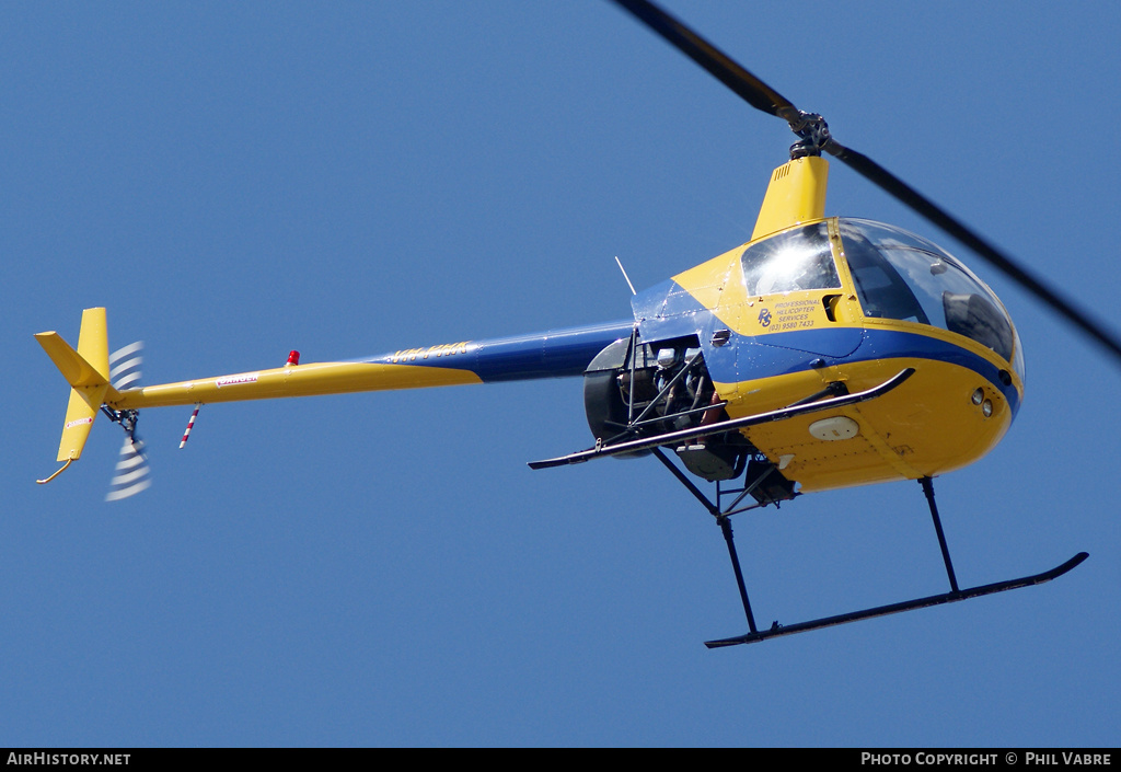 Aircraft Photo of VH-PHK | Robinson R-22 Beta II | Professional Helicopter Services | AirHistory.net #46123