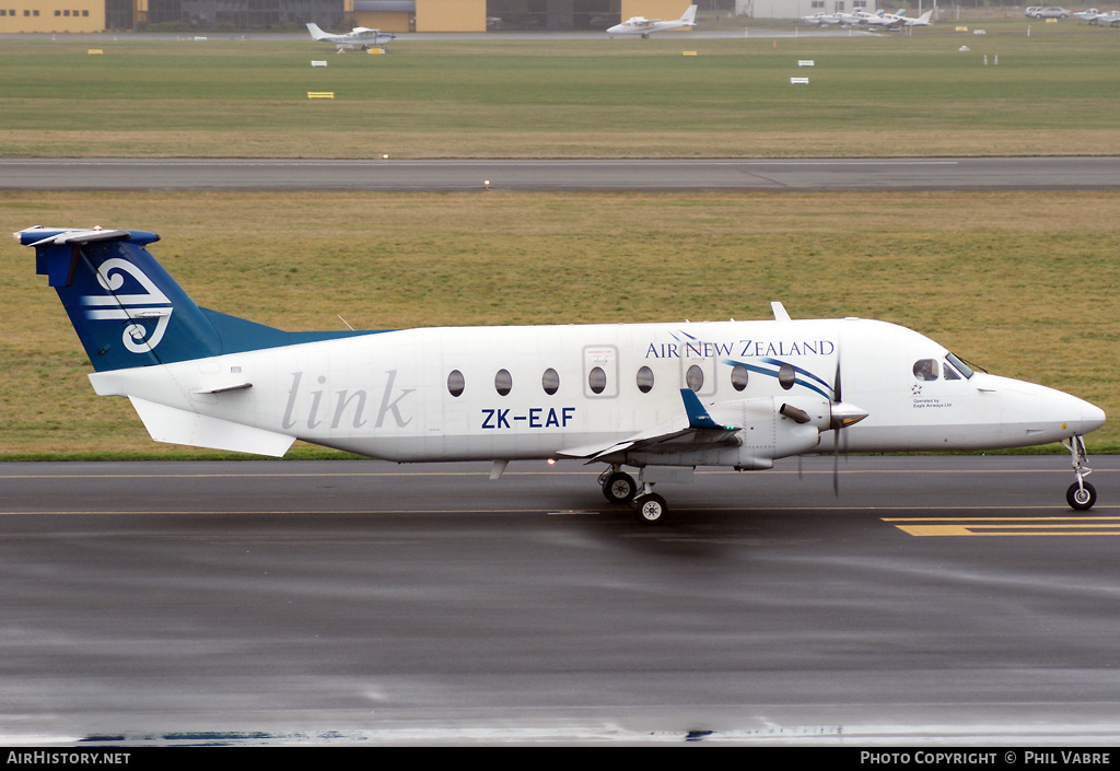 Aircraft Photo of ZK-EAF | Raytheon 1900D | Air New Zealand Link | AirHistory.net #46231