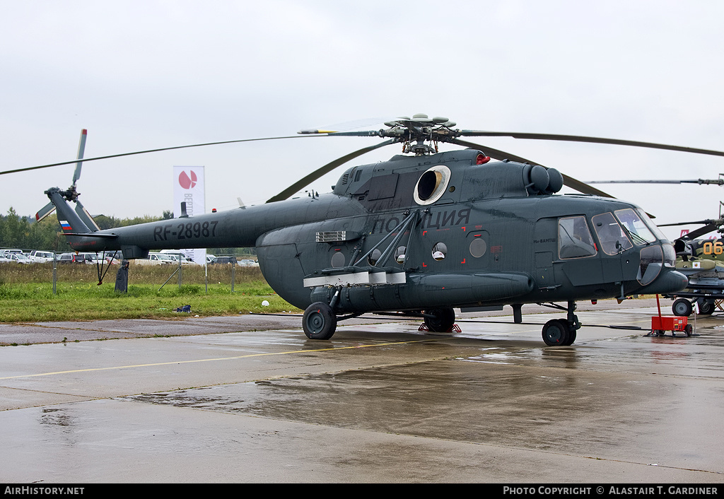 Aircraft Photo of RF-28987 | Mil Mi-8AMTSh | Russia - Police | AirHistory.net #46283
