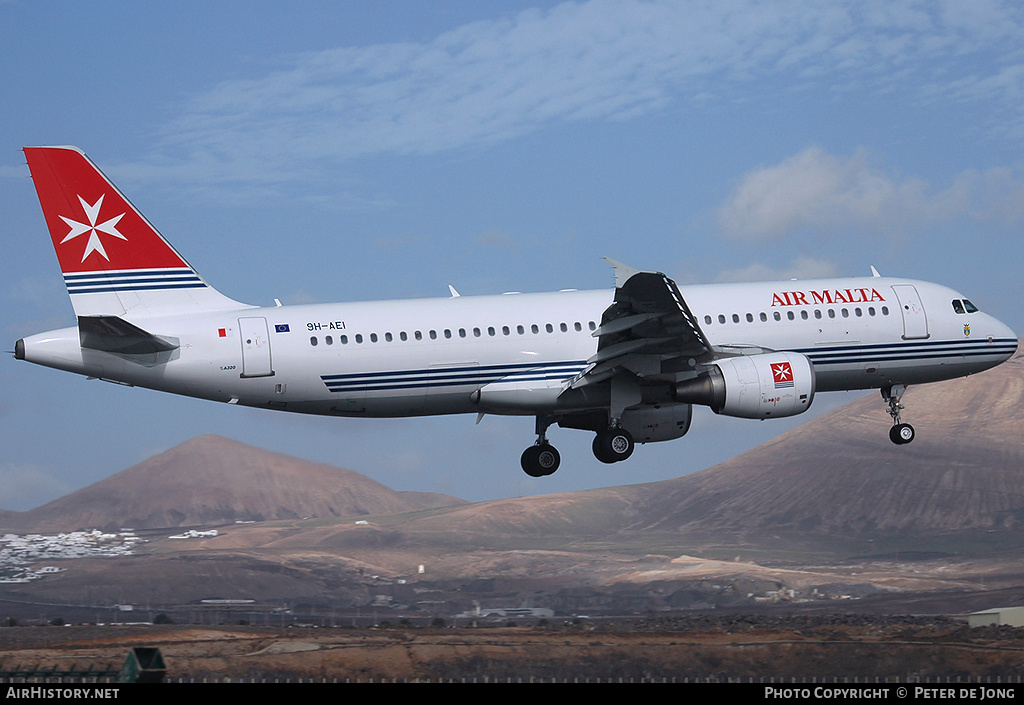 Aircraft Photo of 9H-AEI | Airbus A320-214 | Air Malta | AirHistory.net #46351
