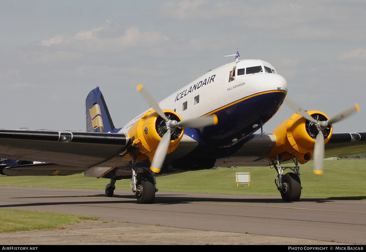Aircraft Photo of TF-NPK | Douglas C-47A Skytrain | DC-3 Thristavinir | Icelandair | AirHistory.net