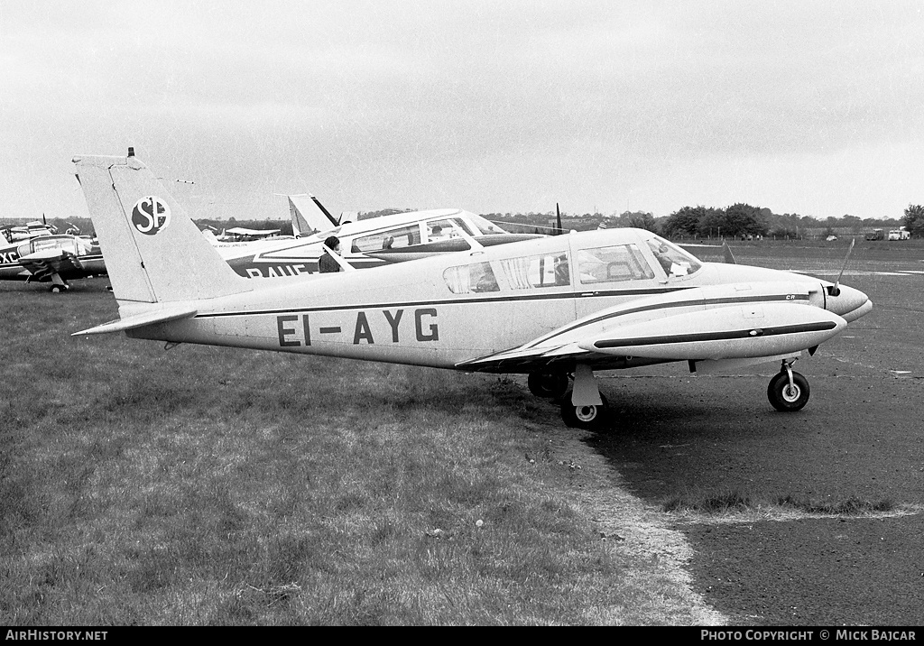 Aircraft Photo of EI-AYG | Piper PA-39-160 Turbo Twin Comanche C/R | AirHistory.net #47222