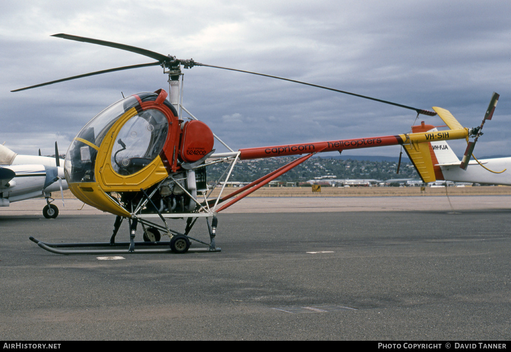 Aircraft Photo of VH-SIH | Hughes 269C 300C | Capricorn Helicopters | AirHistory.net #47243