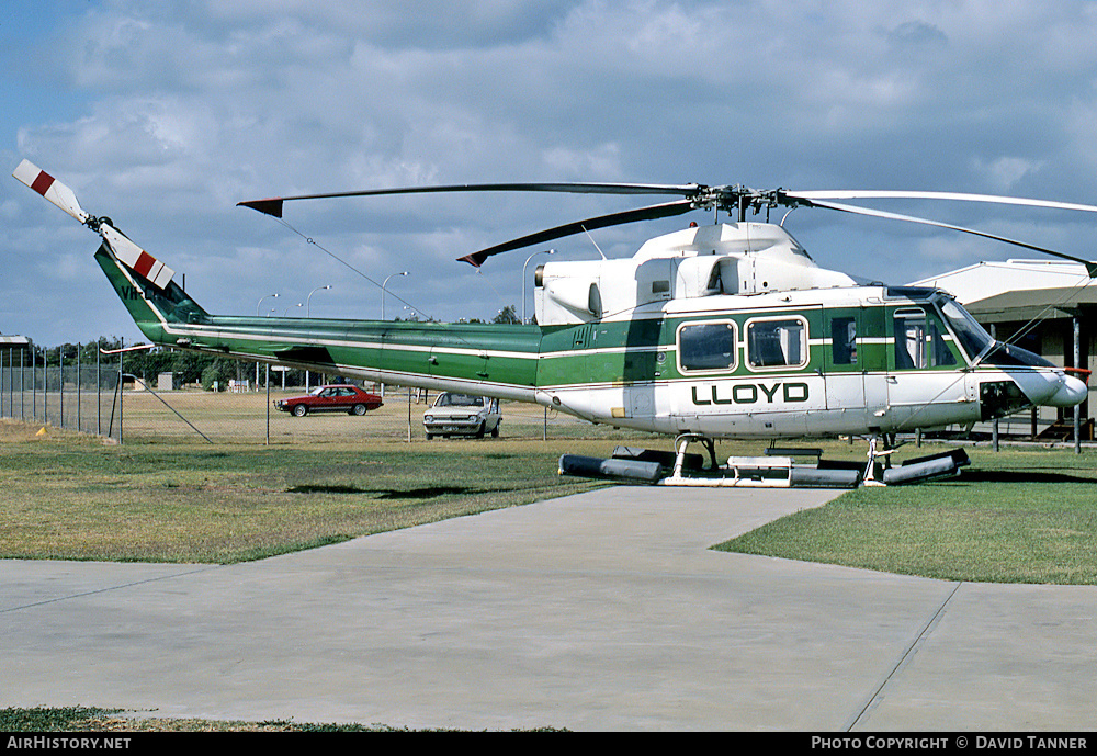 Aircraft Photo of VH-CRQ | Bell 412 | Lloyd Helicopters | AirHistory.net
