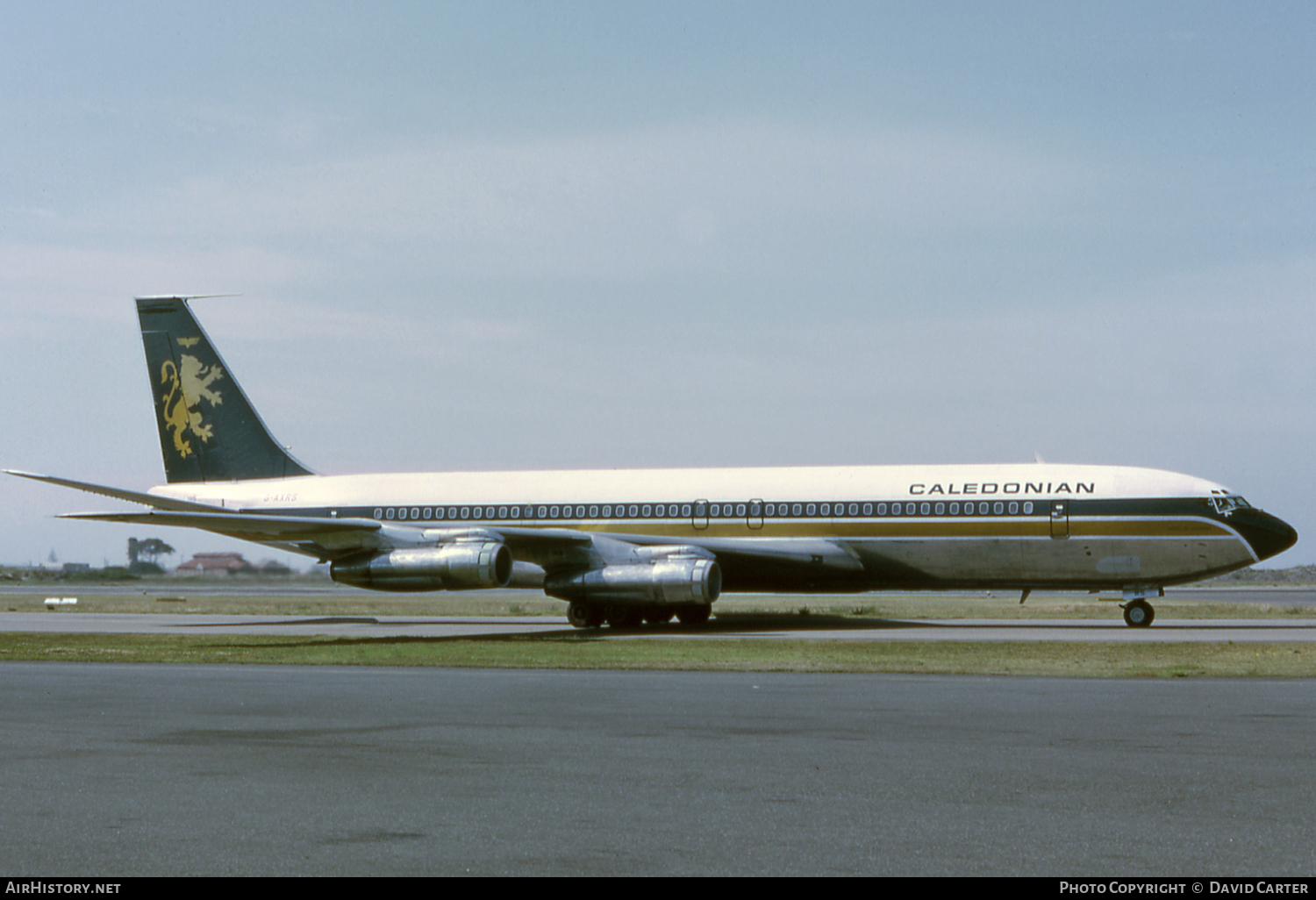 Aircraft Photo of G-AXRS | Boeing 707-355C | Caledonian Airways | AirHistory.net #47450