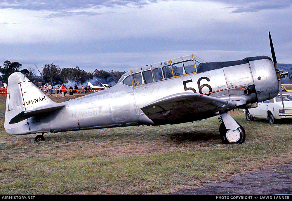 Aircraft Photo of VH-NAH / NZ1056 | North American AT-6C Harvard IIA | New Zealand - Air Force | AirHistory.net #47495