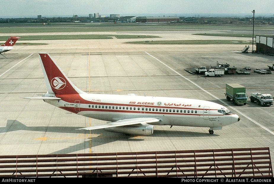 Aircraft Photo of 7T-VEL | Boeing 737-2D6/Adv | Air Algérie | AirHistory.net #47721