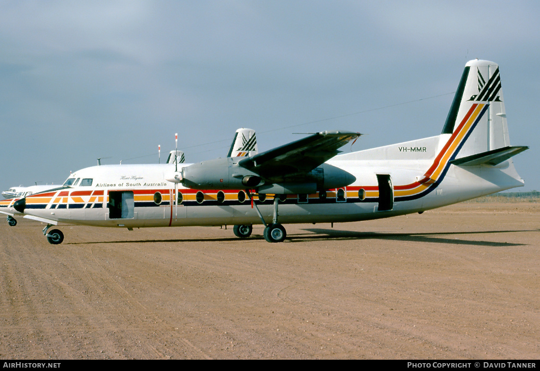 Aircraft Photo of VH-MMR | Fokker F27-200 Friendship | Airlines of South Australia - ASA | AirHistory.net #47916
