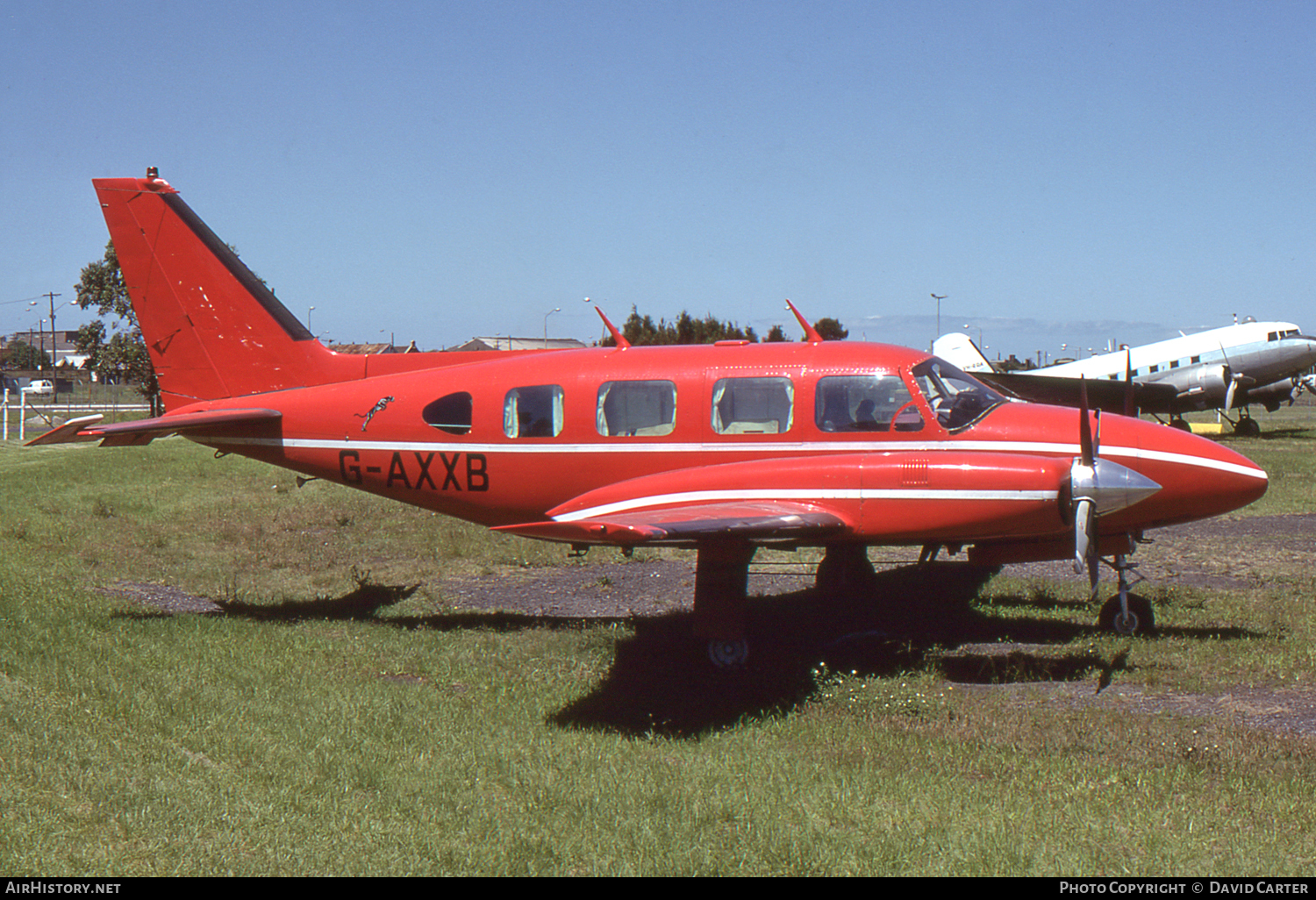 Aircraft Photo of G-AXXB | Piper PA-31/Colemill Panther Navajo | AirHistory.net #47943