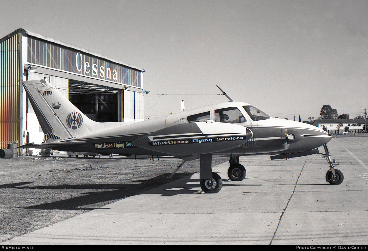 Aircraft Photo of VH-WAN | Cessna 310D | Whittlesea Flying Services | AirHistory.net #48125