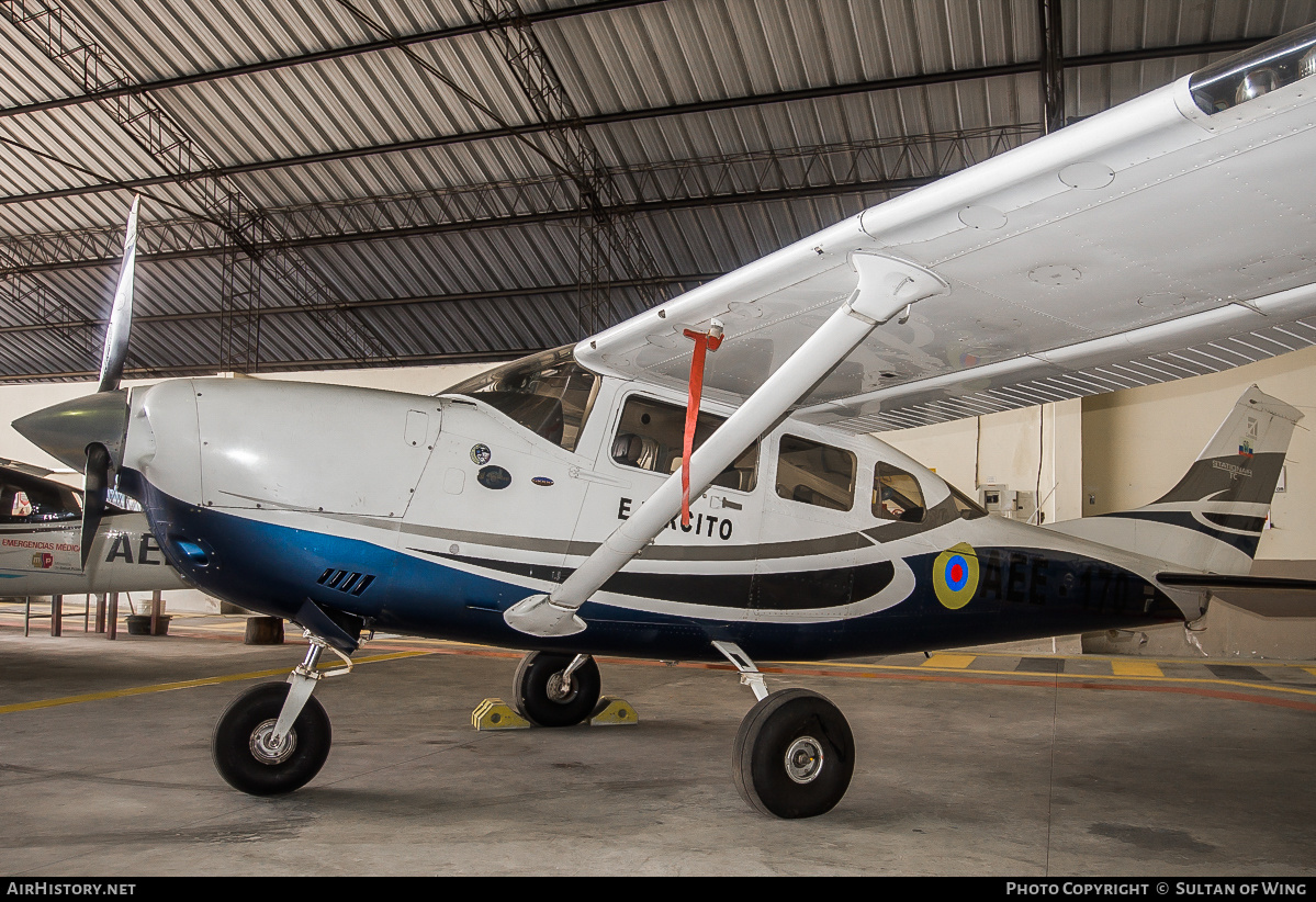Aircraft Photo of AEE-170 | Cessna T206H Turbo Stationair | Ecuador - Army | AirHistory.net #48214