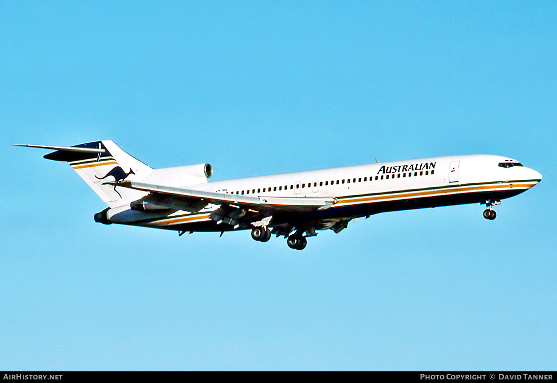 Aircraft Photo of VH-TBN | Boeing 727-276/Adv | Australian Airlines | AirHistory.net #48443