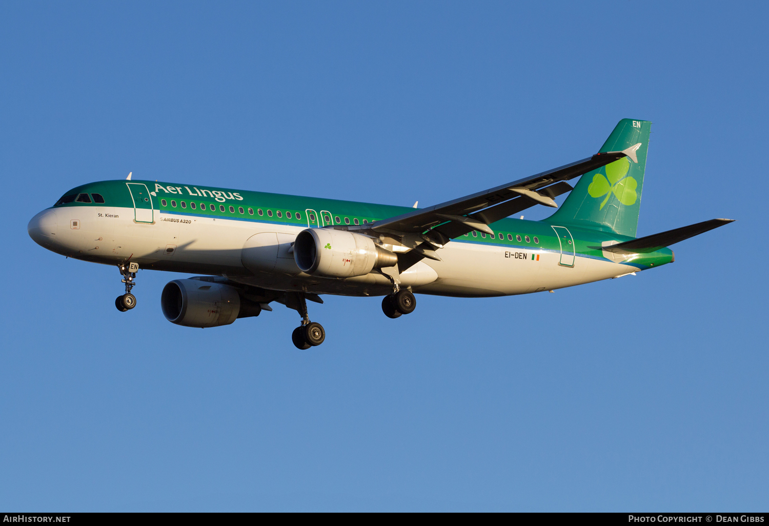 Aircraft Photo of EI-DEN | Airbus A320-214 | Aer Lingus | AirHistory.net #48856