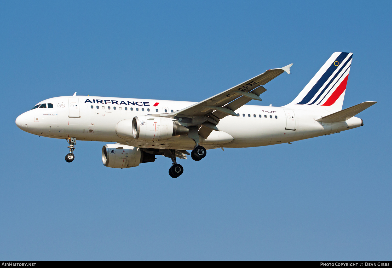 Aircraft Photo of F-GRXE | Airbus A319-111 | Air France | AirHistory.net #48905