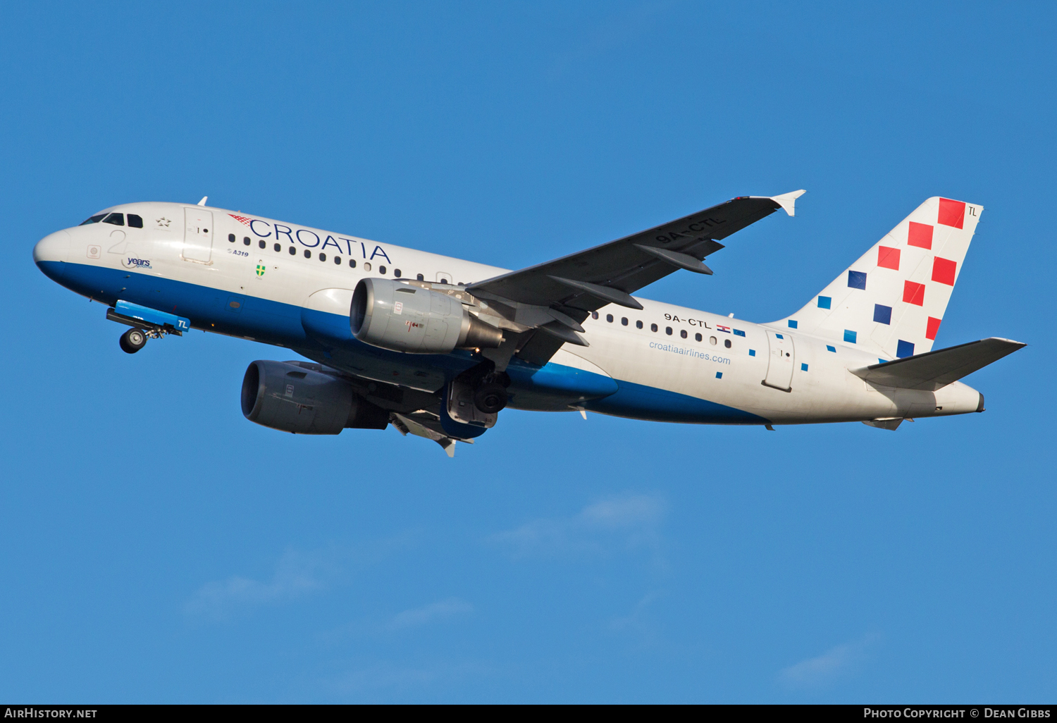 Aircraft Photo of 9A-CTL | Airbus A319-112 | Croatia Airlines | AirHistory.net #48967