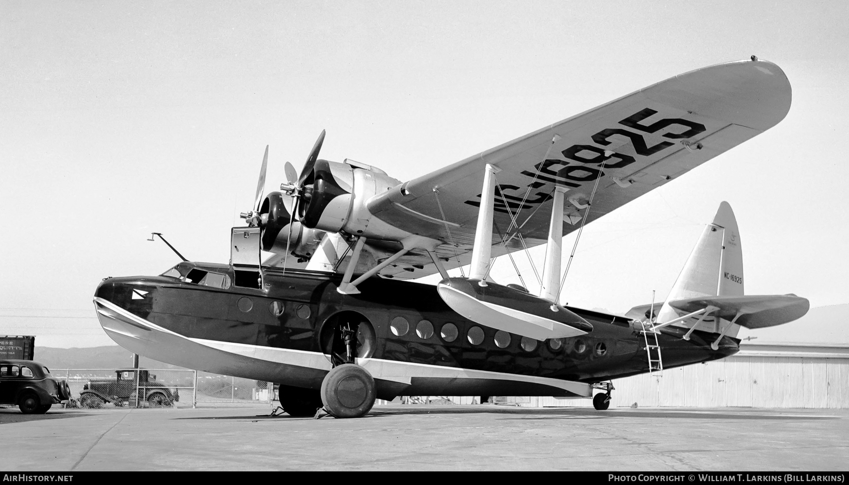 Aircraft Photo of NC16925 | Sikorsky S-43 | AirHistory.net #49113