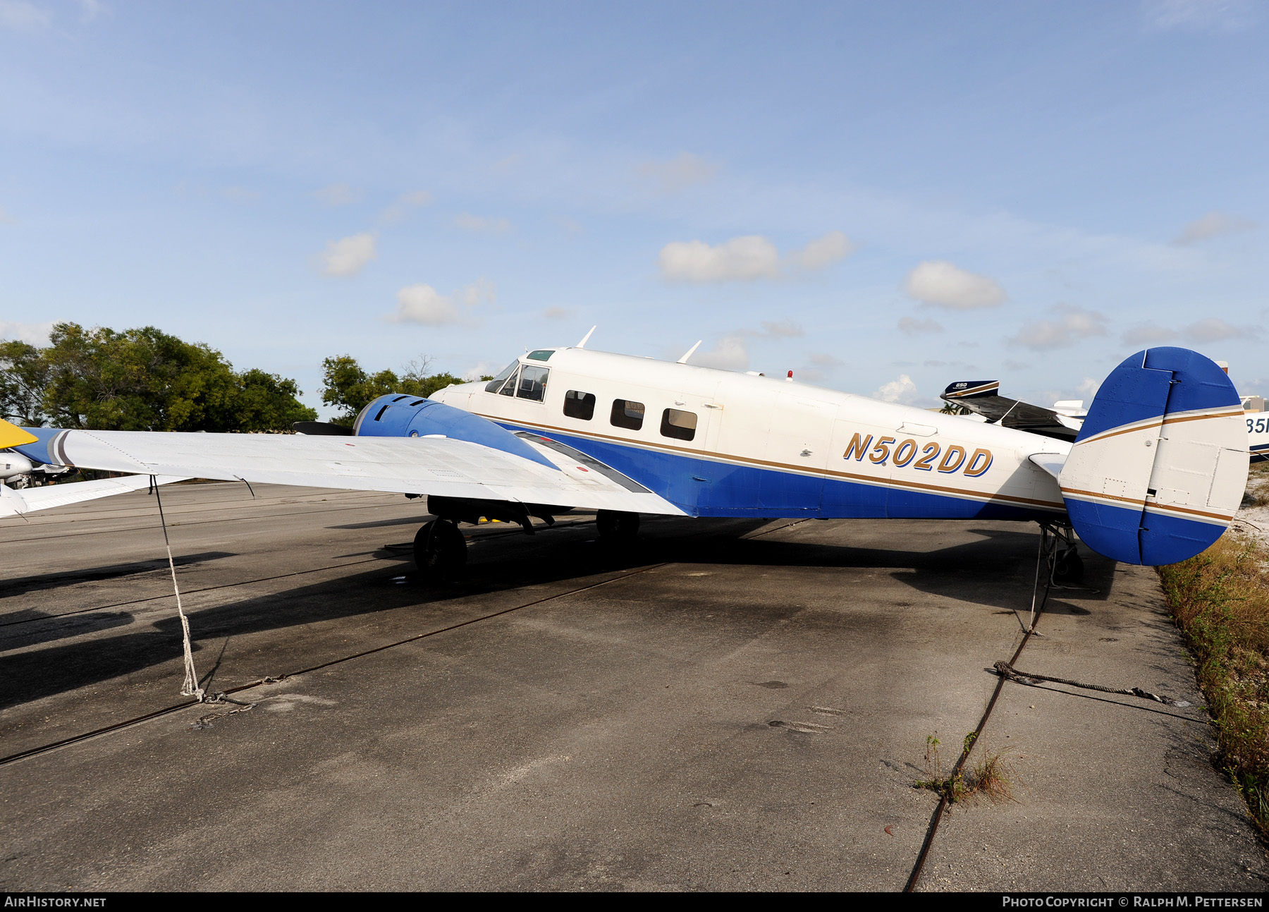 Aircraft Photo of N502DD | Beech G18S | AirHistory.net #49214