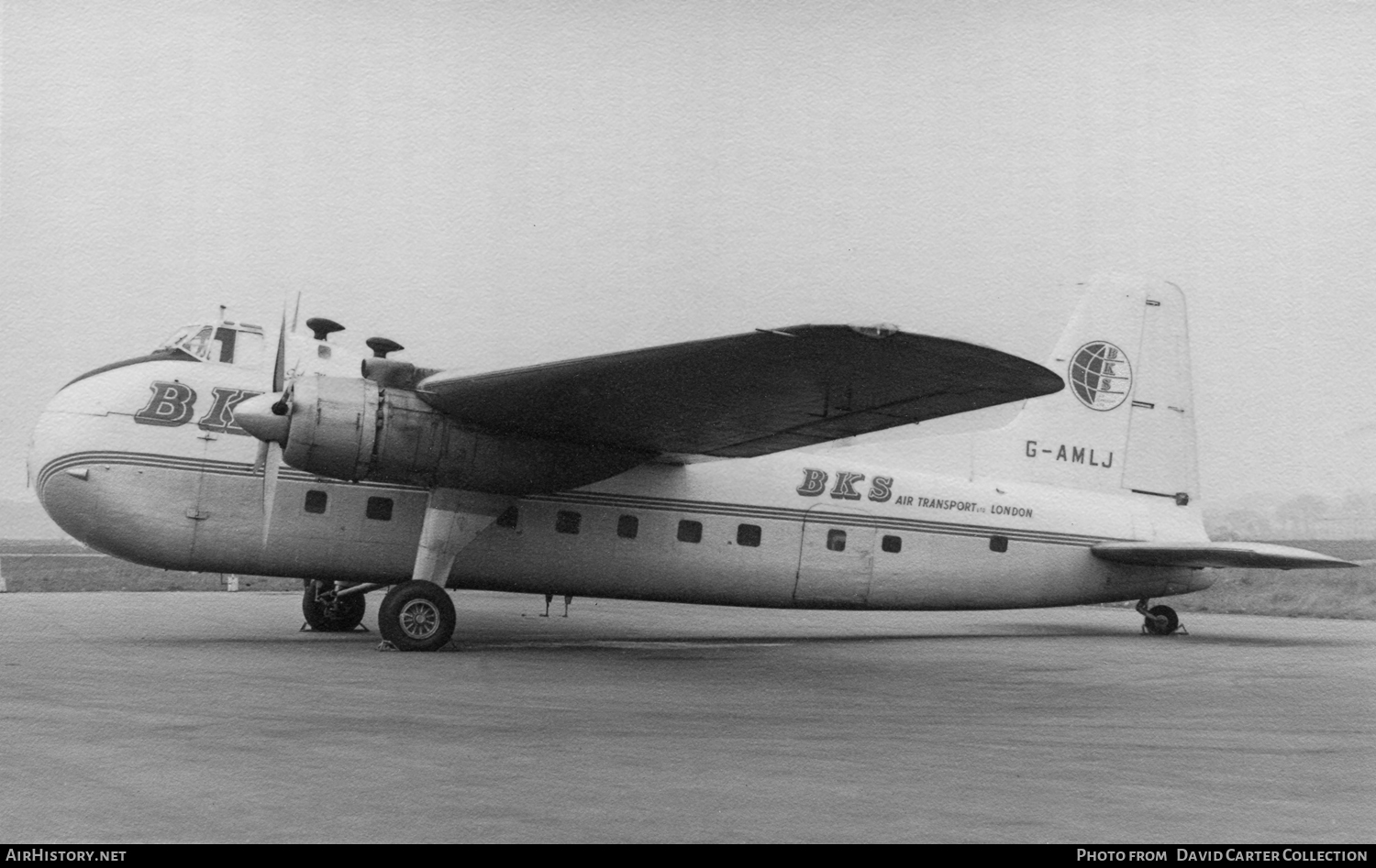 Aircraft Photo of G-AMLJ | Bristol 170 Freighter Mk31E | BKS Air Transport | AirHistory.net #49324