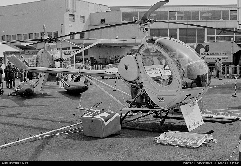 Aircraft Photo of I-BNBO | Hughes NH-300C | AirHistory.net #49446